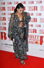 MABEL MCVEY at Brit Awards Nominations Launch Party in London 01/13/2018