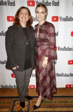 MADDIE HASSON at youtube Portion of 2018 Winter TCA Press Tour in Pasadena 01/13/208