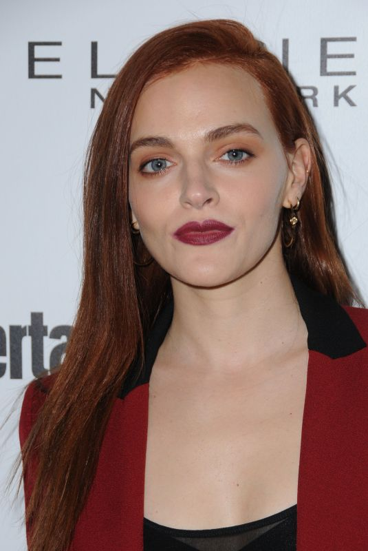 MADELINE BREWER at Entertainment Weekly Pre-SAG Party in Los Angeles 01/20/2018