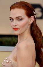 MADELINE BREWER at Screen Actors Guild Awards 2018 in Los Angeles 01/21/2018