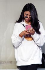 MADISON BEER Leaves Hands Nail Spa in Los Angeles 01/02/2018