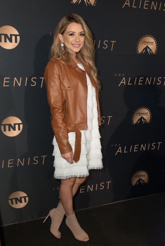 MADISON BONTEMPO at The Alienist Premiere in Los Angeles 01/11/2018
