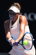 MADISON KEYS at Australian Open Tennis Tournament in Melbourne 01/22/2018
