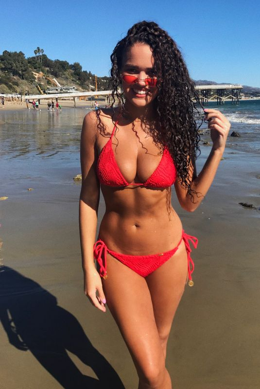 MADISON PETTIS in Bikini at a Beach, 01/29/2018 Instagram Pictures