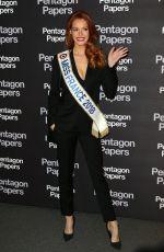 MAEVA COUCKE at The Post Premiere in Paris 01/13/2018