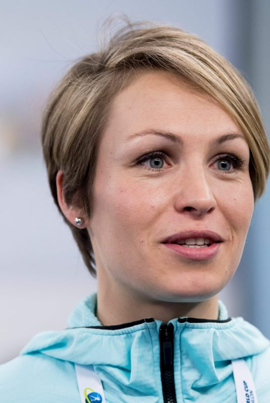MAGDALENA NEUNER at Biathlon World Cup Press Conference in Ruhpolding 01/12/2018