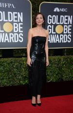MAGGIE GYLLENHAAL at 75th Annual Golden Globe Awards in Beverly Hills 01/07/2018