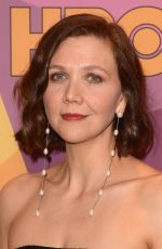 MAGGIE GYLLENHAAL at HBO's Golden Globe Awards After-party in Los Angeles 01/07/2018