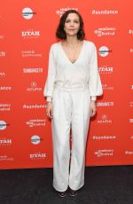 MAGGIE GYLLENHAAL at Un Traductor Premiere at 2018 Sundance Film Festival in Park City 01/19/2018