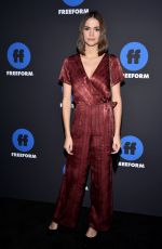 MAIA MITCHELL at 2018 Freeform Summit in Hollywood 01/18/2018