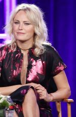 MALIN AKERMAN and MAGGIE SIFF at Billion TV Show Panel at TCA Winter Press Tour in Los Angeles 01/06/2018