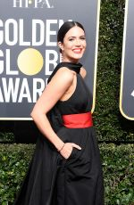 MANDY MOORE at 75th Annual Golden Globe Awards in Beverly Hills 01/07/2018