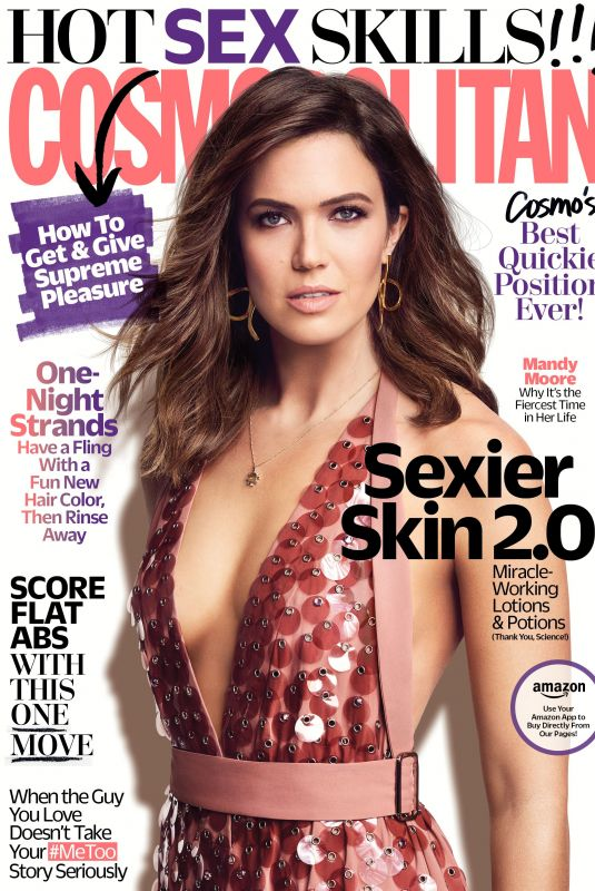 MANDY MOORE for Cosmopolitan Magazine, March 2018