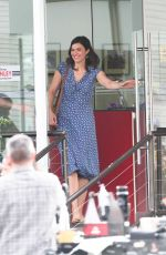 MANDY MOORE on the Set of This Is Us in Los Angeles 01/03/2018
