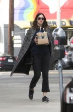 MANDY MOORE Out for Coffees in Los Angeles 01/19/2018