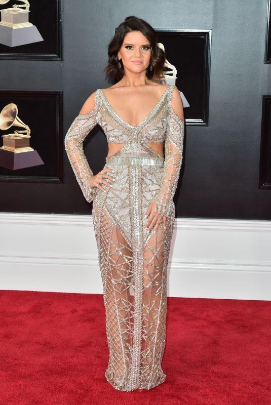 MAREN MORRIS at Grammy 2018 Awards in New York 01/28/2018