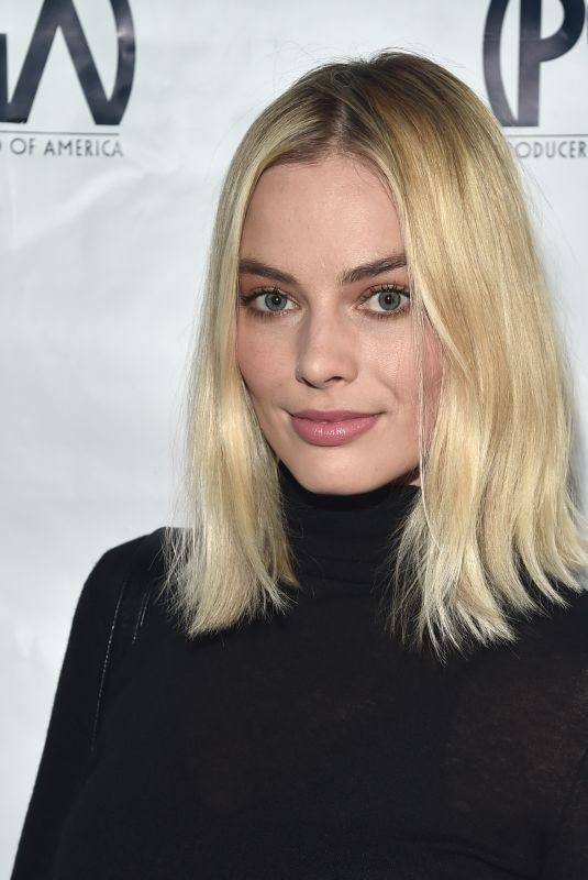 MARGOT ROBBIE at 29th Annual Producers Guild Awards Nominees Breakfast in Los Angeles 01/20/2018