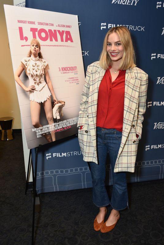 MARGOT ROBBIE at I, Tonya Screening in Los Angeles 01/09/2018