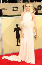 MARGOT ROBBIE at Screen Actors Guild Awards 2018 in Los Angeles 01/21/2018