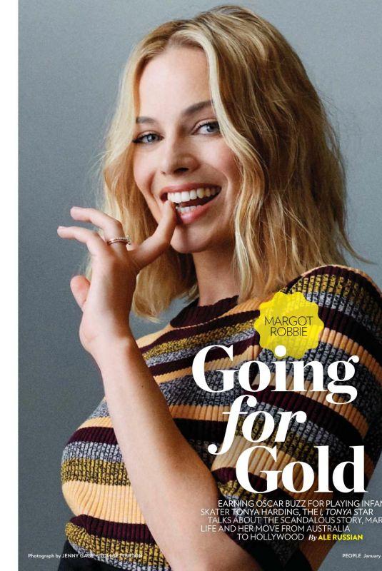 MARGOT ROBBIE for People Magazine, January 2018