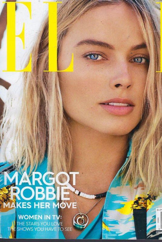 MARGOT ROBBIE in Elle Magazine, February 2018 Issue