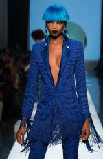 MARIA BORGES on the Runway at Jean-Paul Gaultier Spring/Summer 2018 Show in Paris 01/24/2018