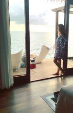 MARIA MENOUNOS in Bikini on Vacation in Jamaica 01/26/2018 Instagram Pictures