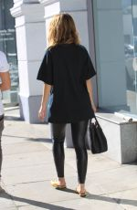 MARIA MENOUNOS Out Shopping in Beverly Hills 01/13/2018