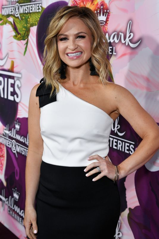 MARIA PROVENZANO at Hhallmark Channel All-star Party in Los Angeles 01/13/2018