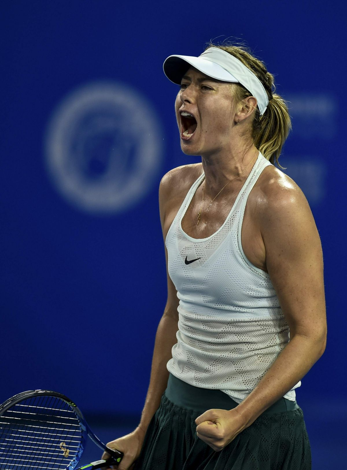 MARIA SHARAPOVA at 2018 Shenzen Open WTA International ...