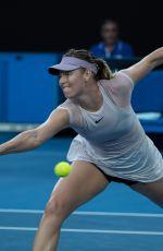 MARIA SHARAPOVA at Australian Open Tennis Tournament in Melbourne 01/20/2018