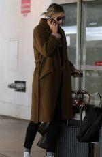 MARIA SHARAPOVA at LAX Airport in Los Angeles 01/25/2018
