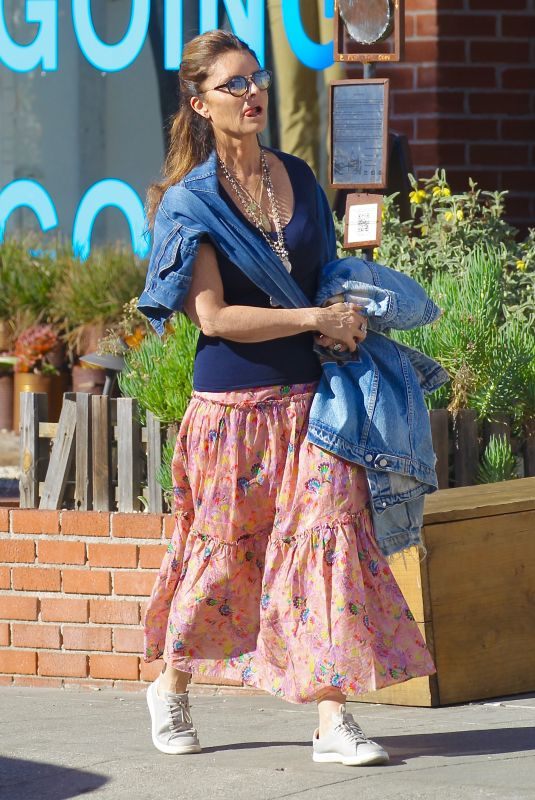 MARIA SHRIVER Out and About in Venice Beach 01/28/2018