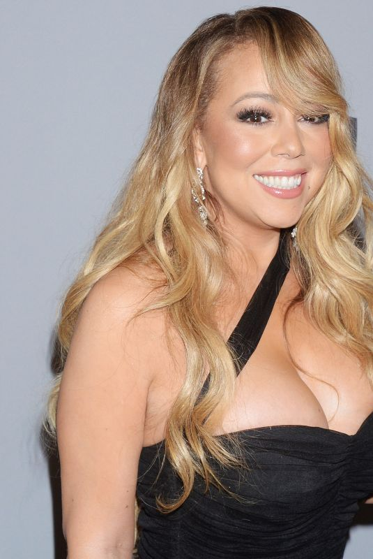 MARIAH CAREY at Instyle and Warner Bros Golden Globes After-party in Los Angeles 01/07/2018