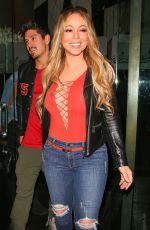 MARIAH CAREY at Mr Chow in Beverly Hills 01/17/2018
