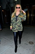 MARIAH CAREY Night Out in New York 01/24/2018
