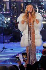 MARIAH CAREY Performs at 2018 New Year