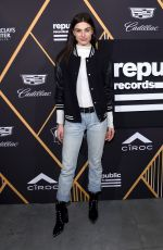 MARIAH STRONGIN at Republic Records Celebrates Grammy Awards in Partnership in New York 01/26/2018