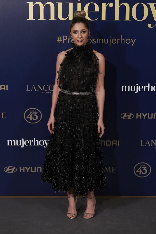 MARIAM HERNANDEZ at 9th Annual Mujer Hoy Awards in Madrid 01/30/2018