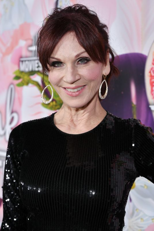 MARILU HENNER at Hhallmark Channel All-star Party in Los Angeles 01/13/2018