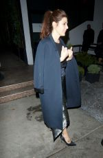 MARISA TOMEI Arrives at Pre Golden Globes Party at Poppy in West Hollywood 01/06/2018