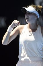 MARKETA VONDROUSOVA at Australian Open Tennis Tournament in Melbourne 01/18/2018