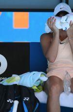 MARTA KOSTYUK at Australian Open Tennis Tournament in Melbourne 01/19/2018
