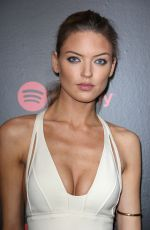 MARTHA HUNT at 2018 Spotify Best New Artists Party in New York 01/25/2018