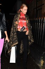 MARY CHARTERIS Arrives at Alexa Chung Clothing Range Collection Launch in London 01/30/2018