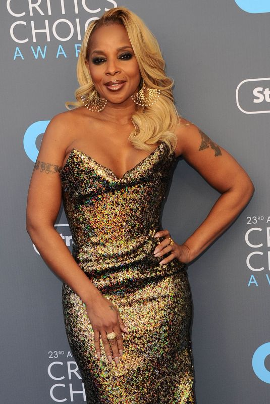MARY J. BLIGE at 2018 Critics