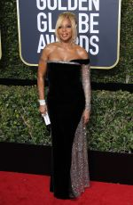 MARY J. BLIGE at 75th Annual Golden Globe Awards in Beverly Hills 01/07/2018