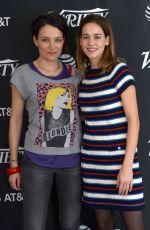 MATILDA LUTZ and CORALIE FARGEAT at Variety Studio at Sundance Film Festival 01/19/2018