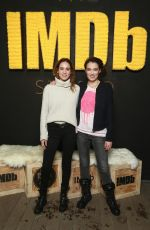 MATILDA LUTZ at IMDB Studio at Sundance Film Festival in Park City 01/20/2018
