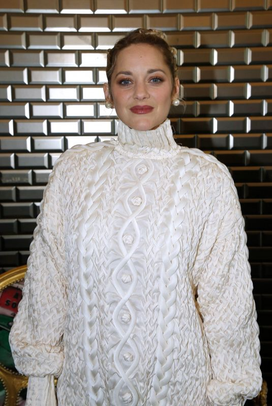 MATION COTILLARD at Jean-Paul Gaultier Haute Couture Spring/Summer 2018 Show in Paris 01/24/2018